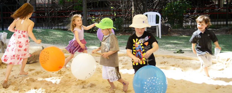 Children's party at the North Sydney Community Centre