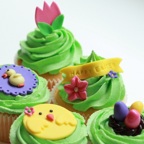 Term 1: Easter Cupcake Decoration