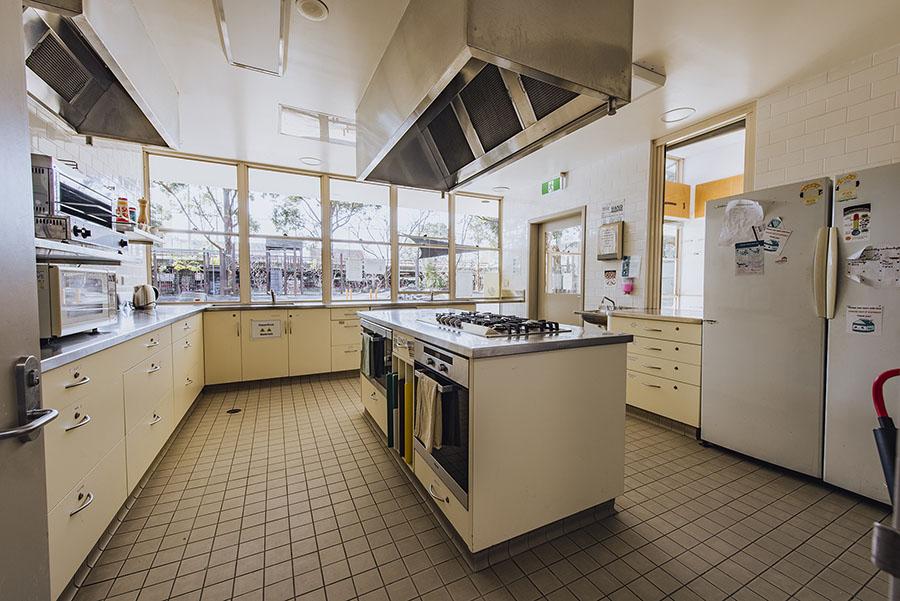 Interior of the kitchen